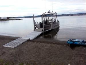 Brygge+båt